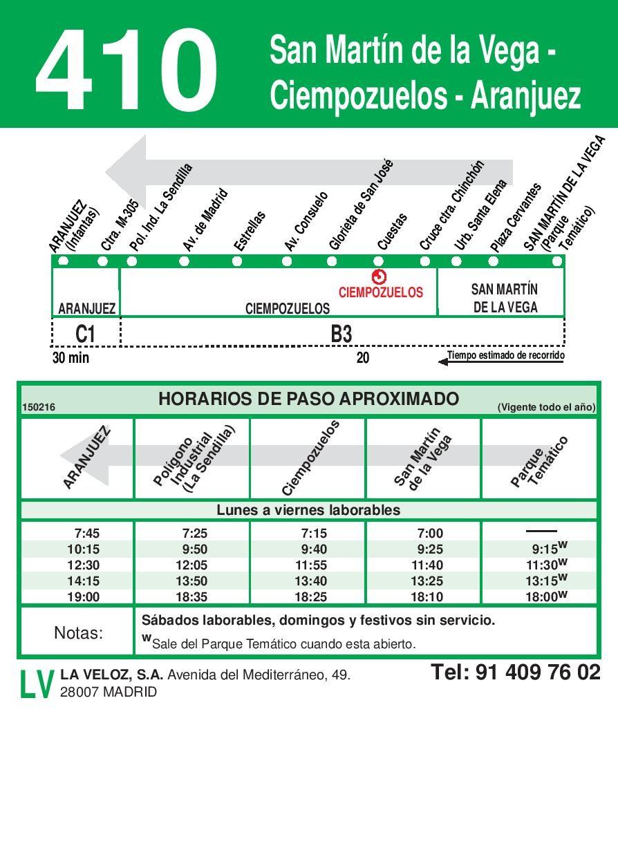 Aranjuez - Ciempozuelos - San Martin de la Vega